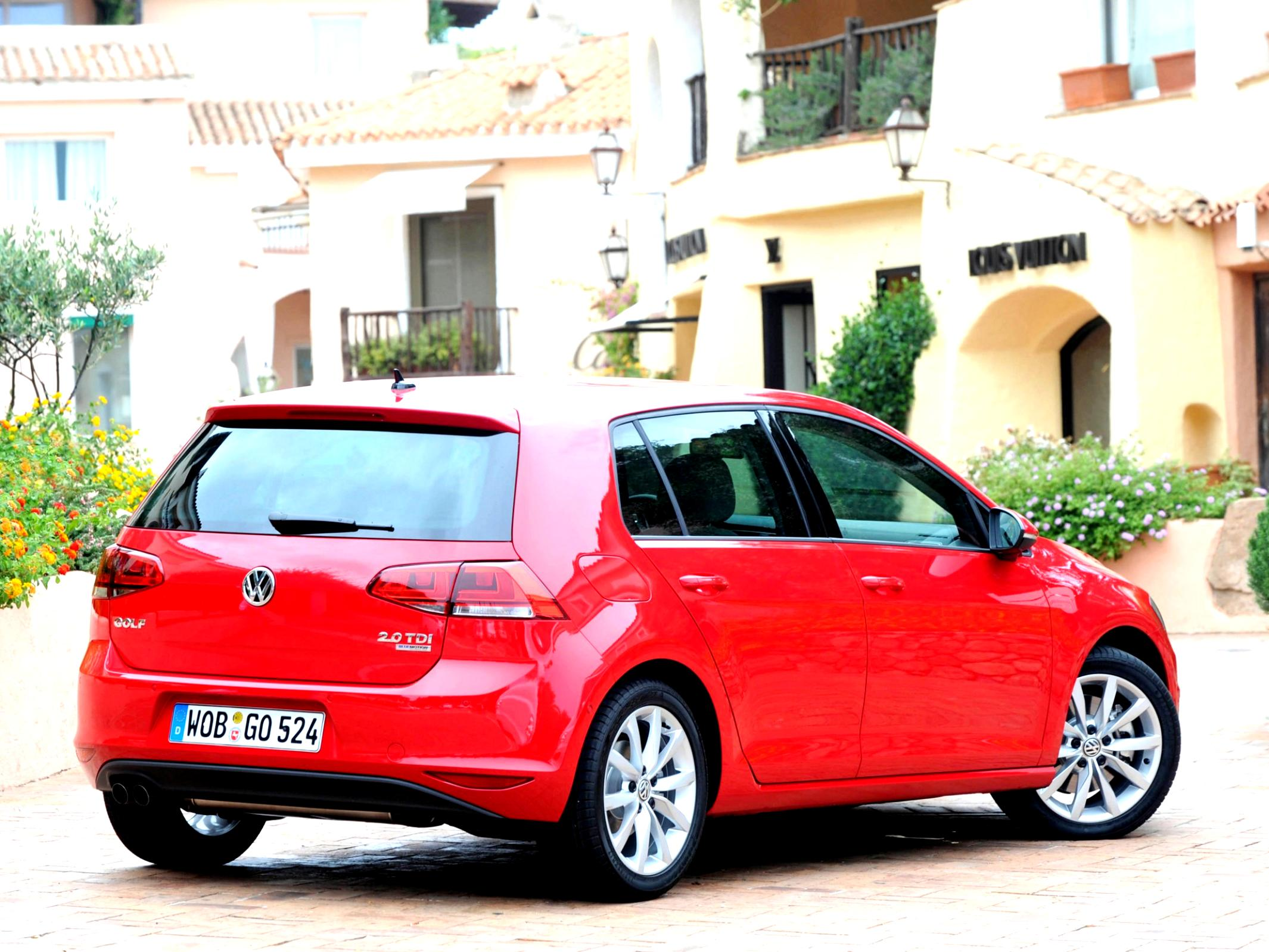 Volkswagen Golf VII 5 Doors 2012 #39