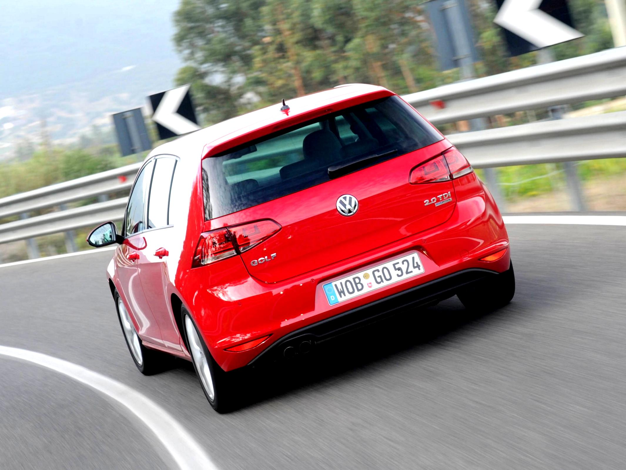 Volkswagen Golf VII 5 Doors 2012 #40