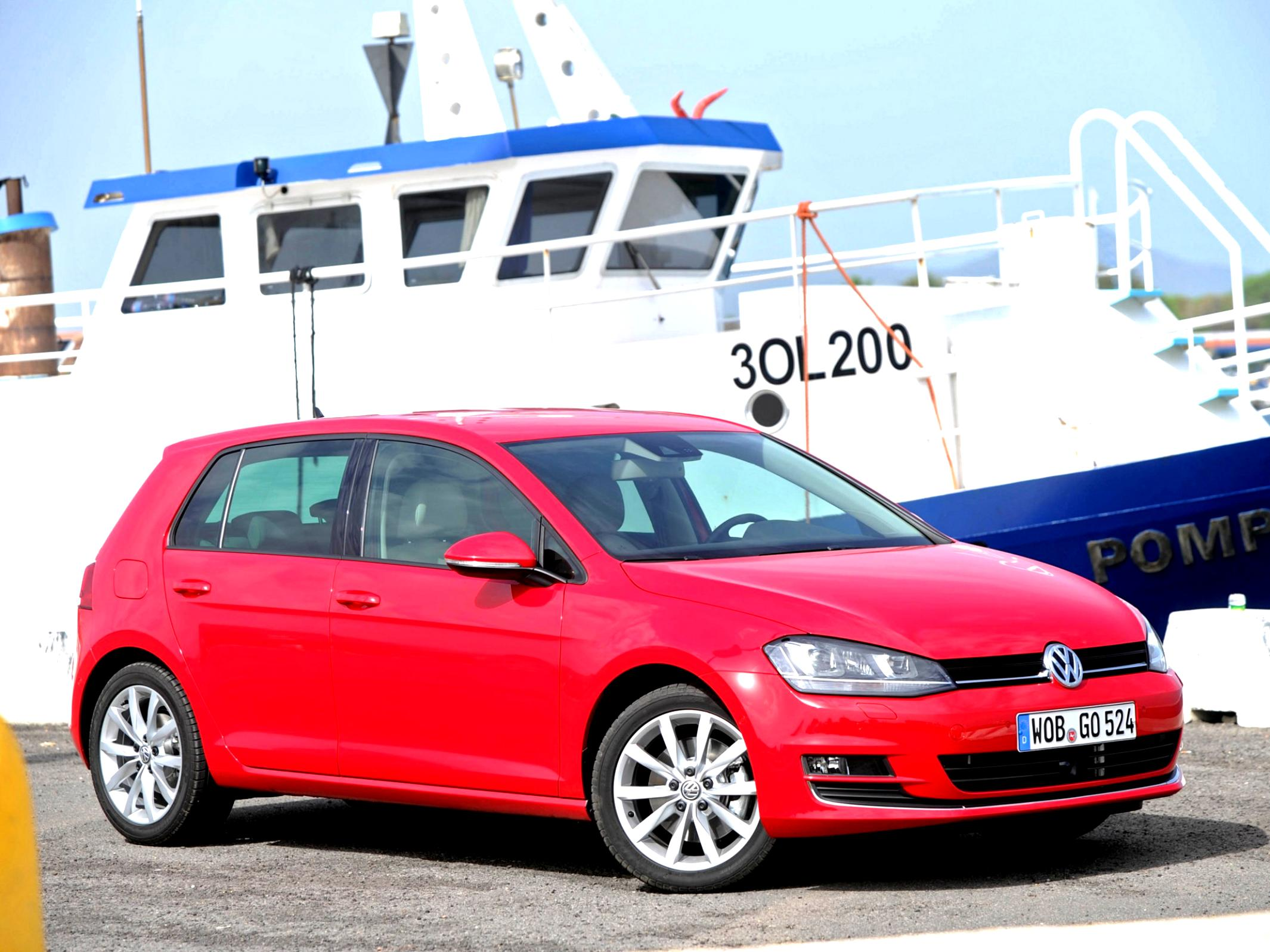 Volkswagen Golf VII 5 Doors 2012 #42