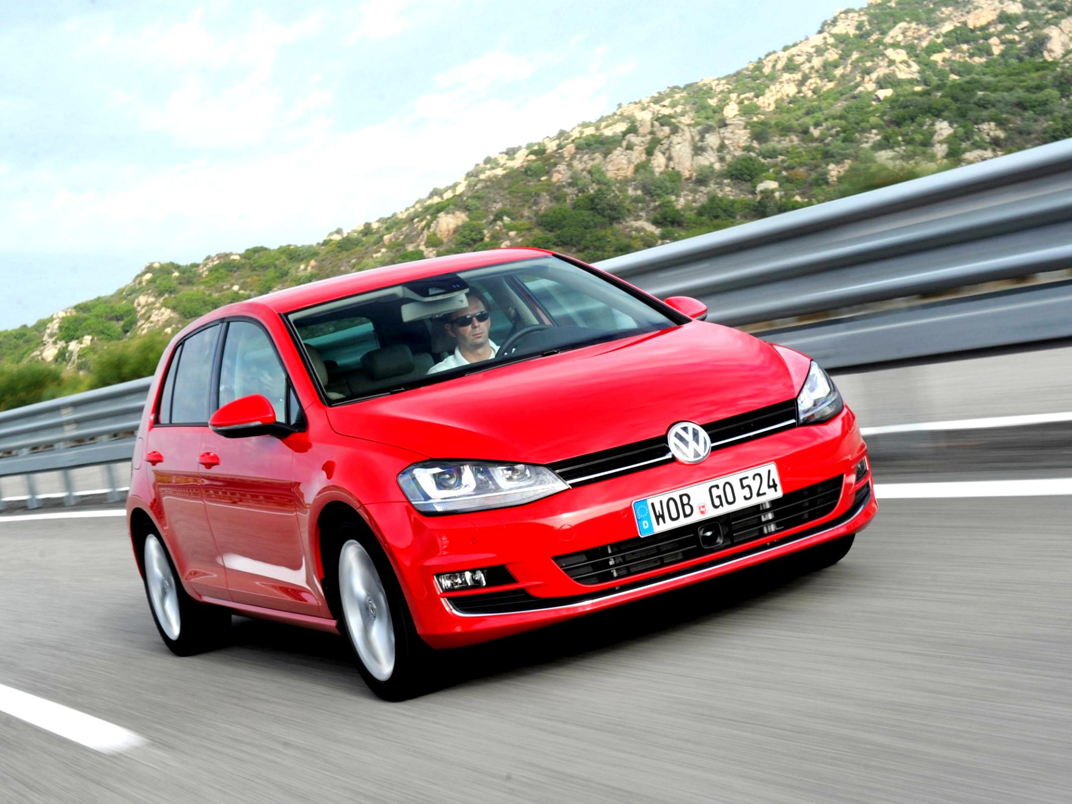 Volkswagen Golf VII 5 Doors 2012 #46
