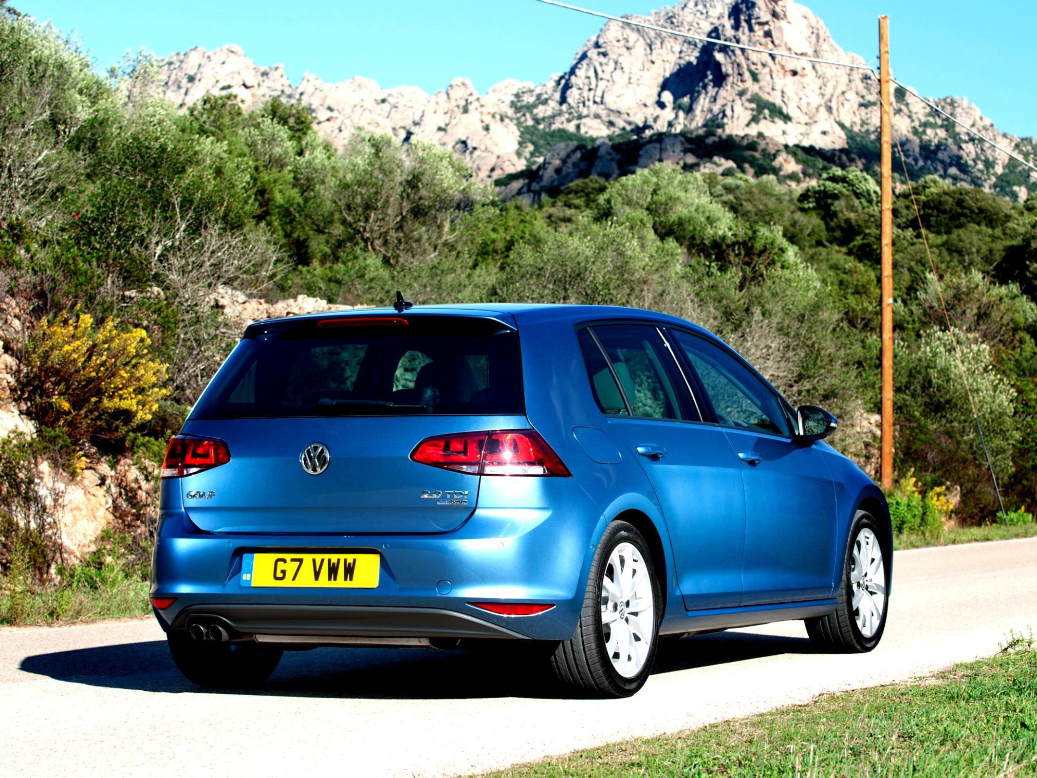 Volkswagen Golf VII 5 Doors 2012 #51