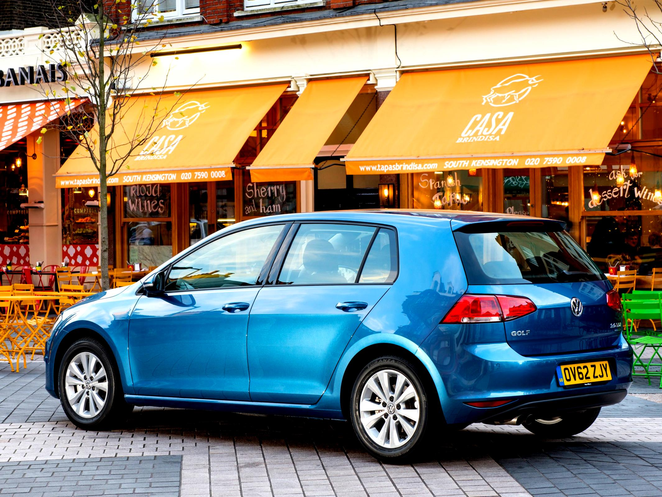 Volkswagen Golf VII 5 Doors 2012 #57