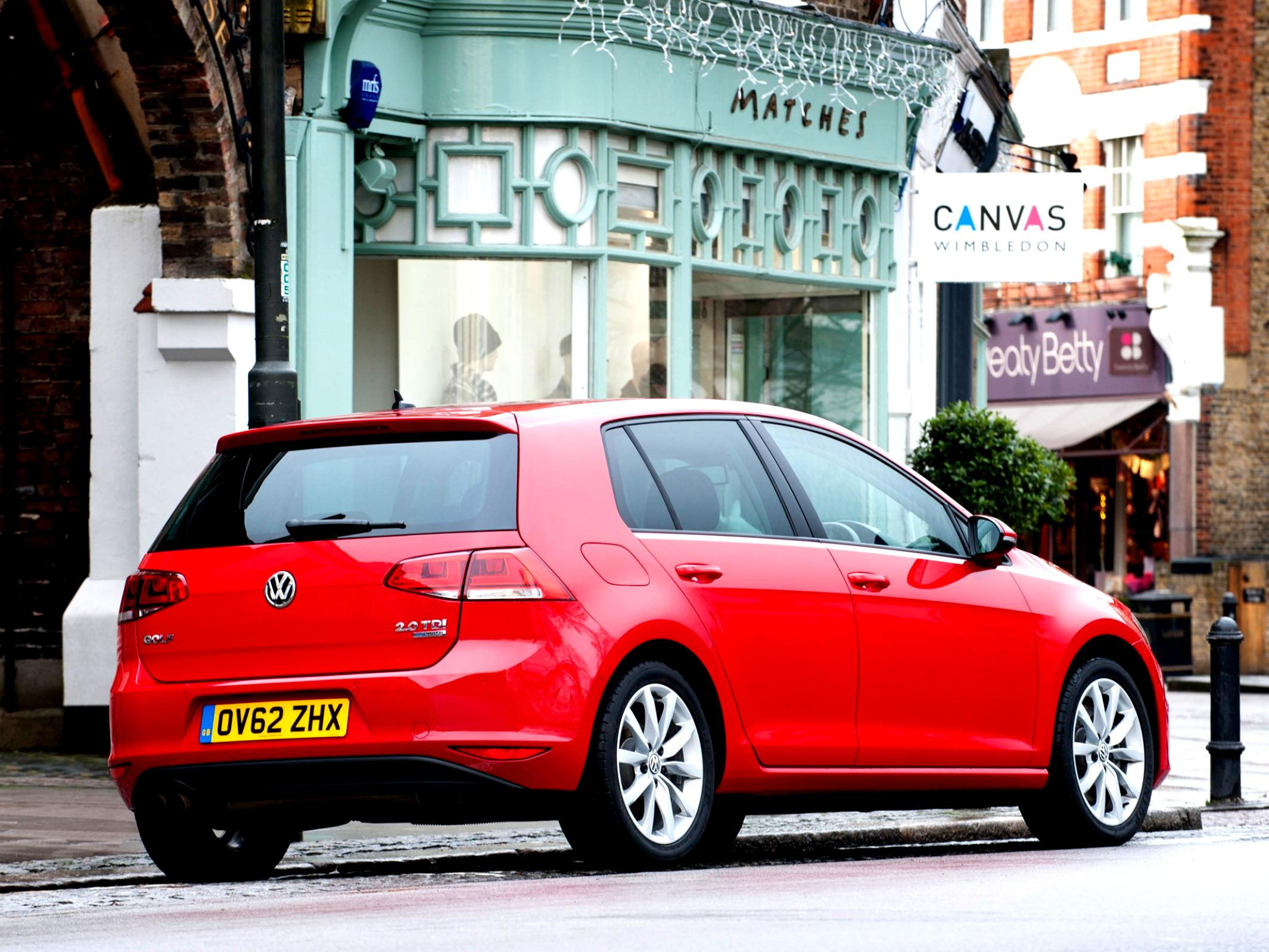 Volkswagen Golf VII 5 Doors 2012 #65