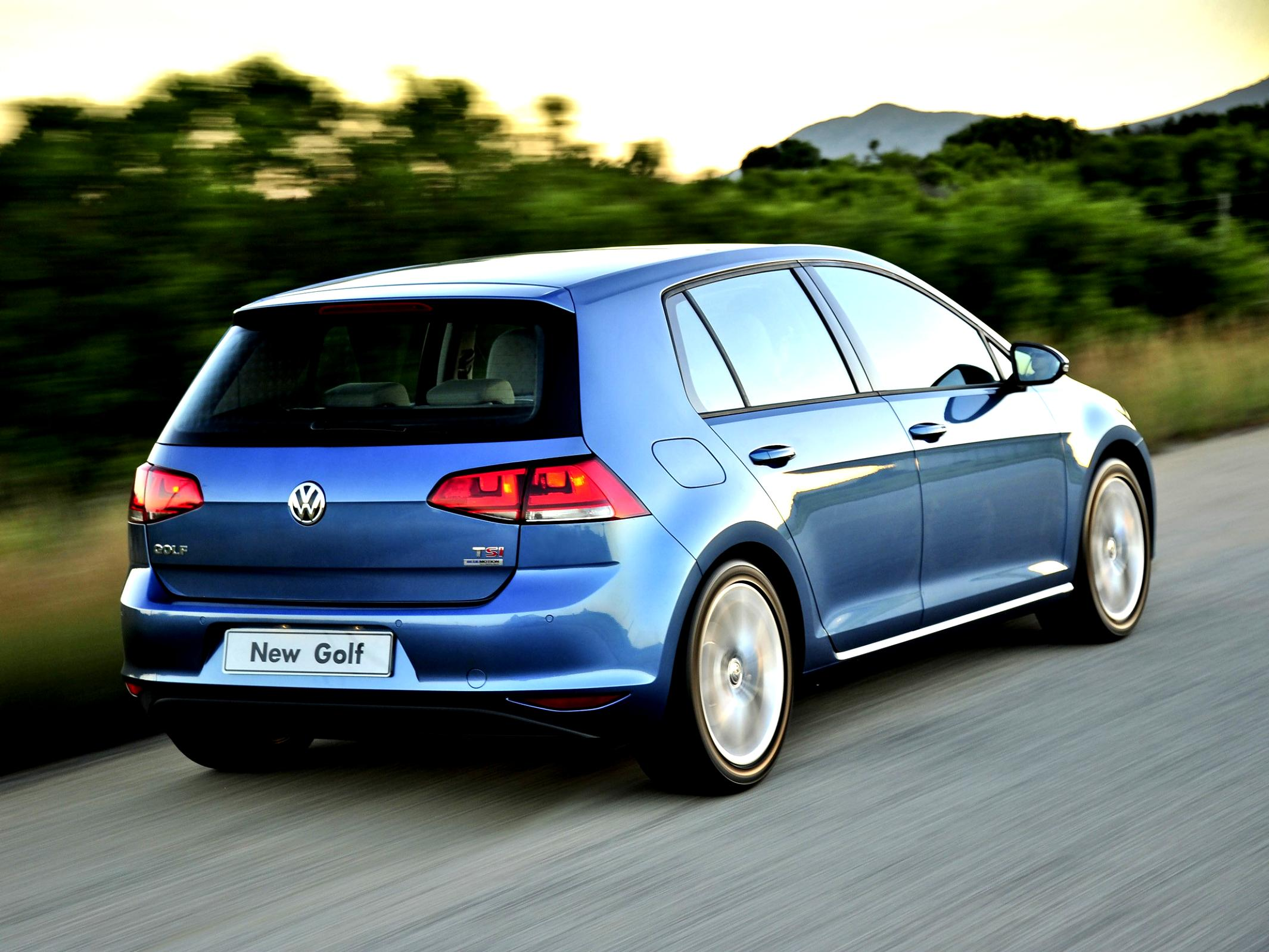 Volkswagen Golf VII 5 Doors 2012 #76