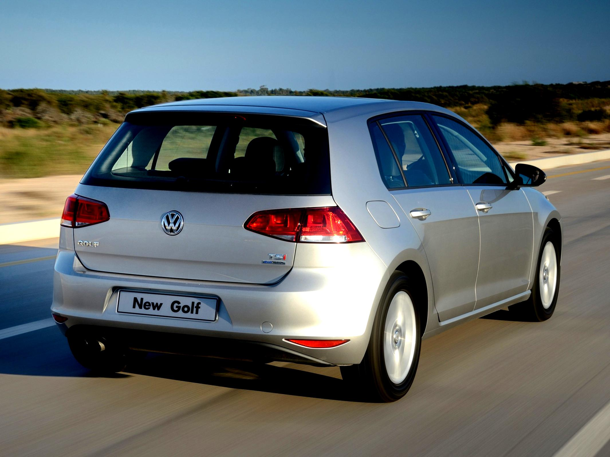 Volkswagen Golf VII 5 Doors 2012 #79