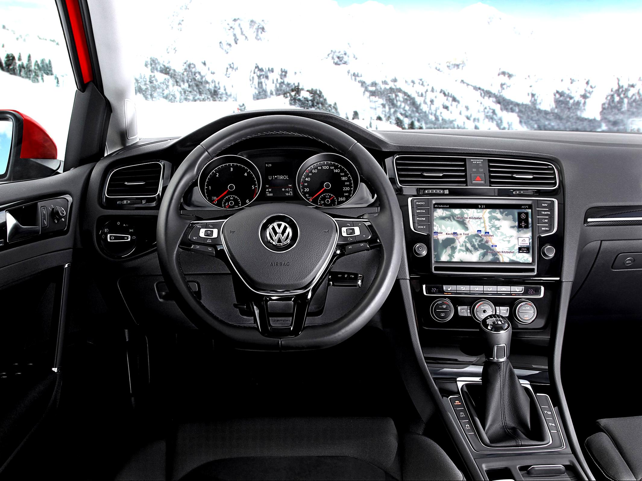 Volkswagen Golf VII 5 Doors 2012 #88