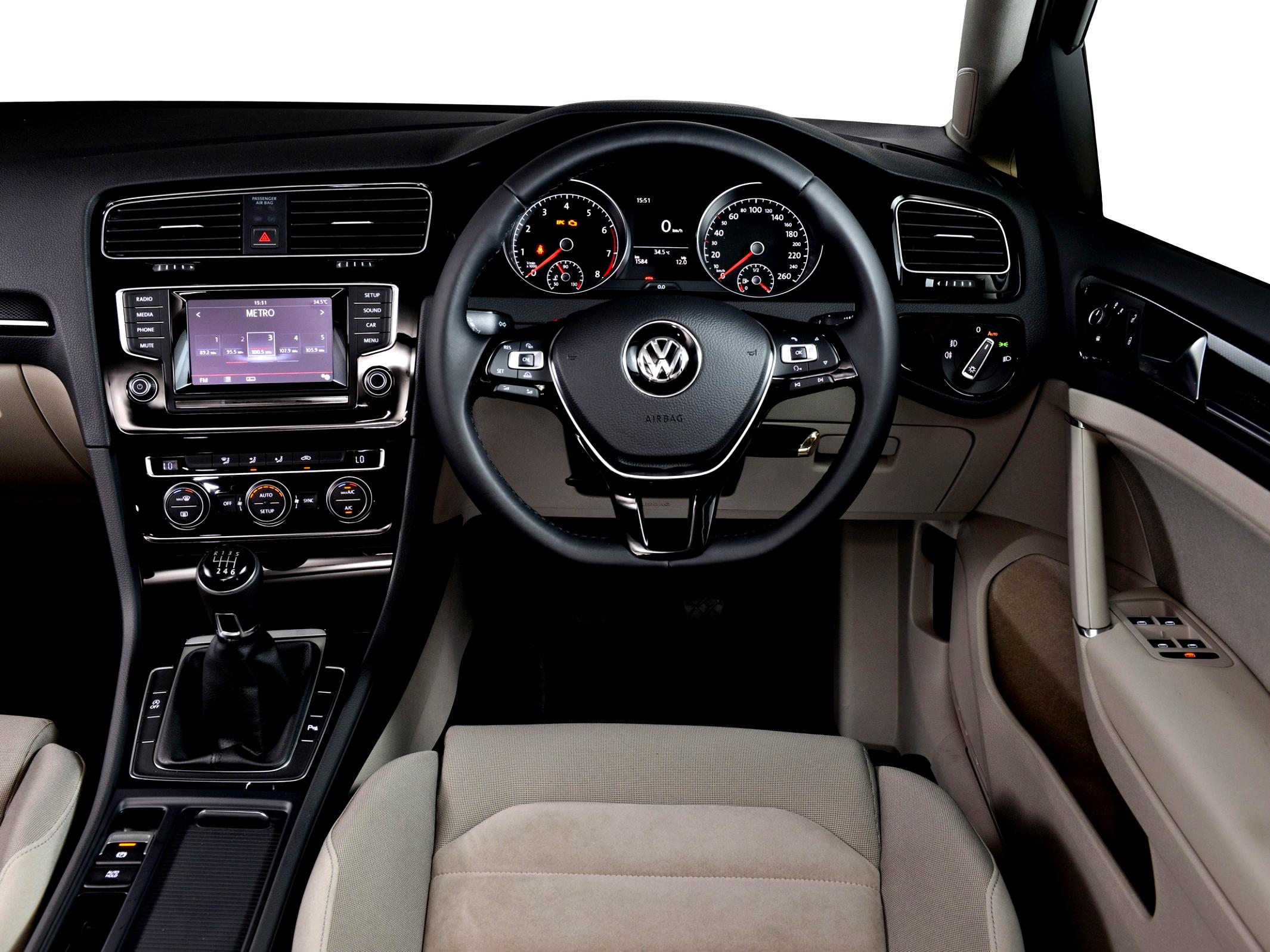 Volkswagen Golf VII 5 Doors 2012 #96