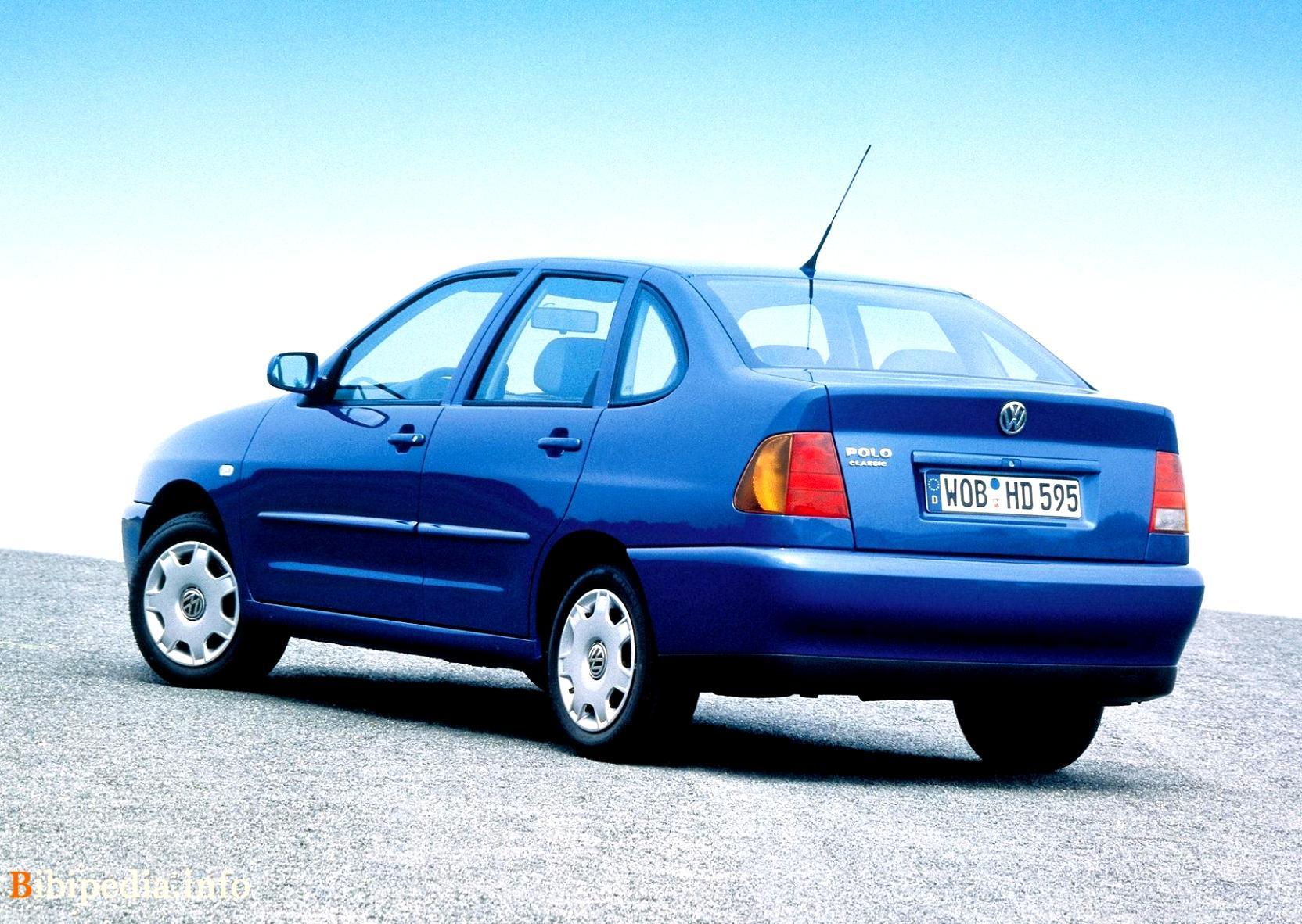 Volkswagen Polo Classic 1996 on MotoImg.com