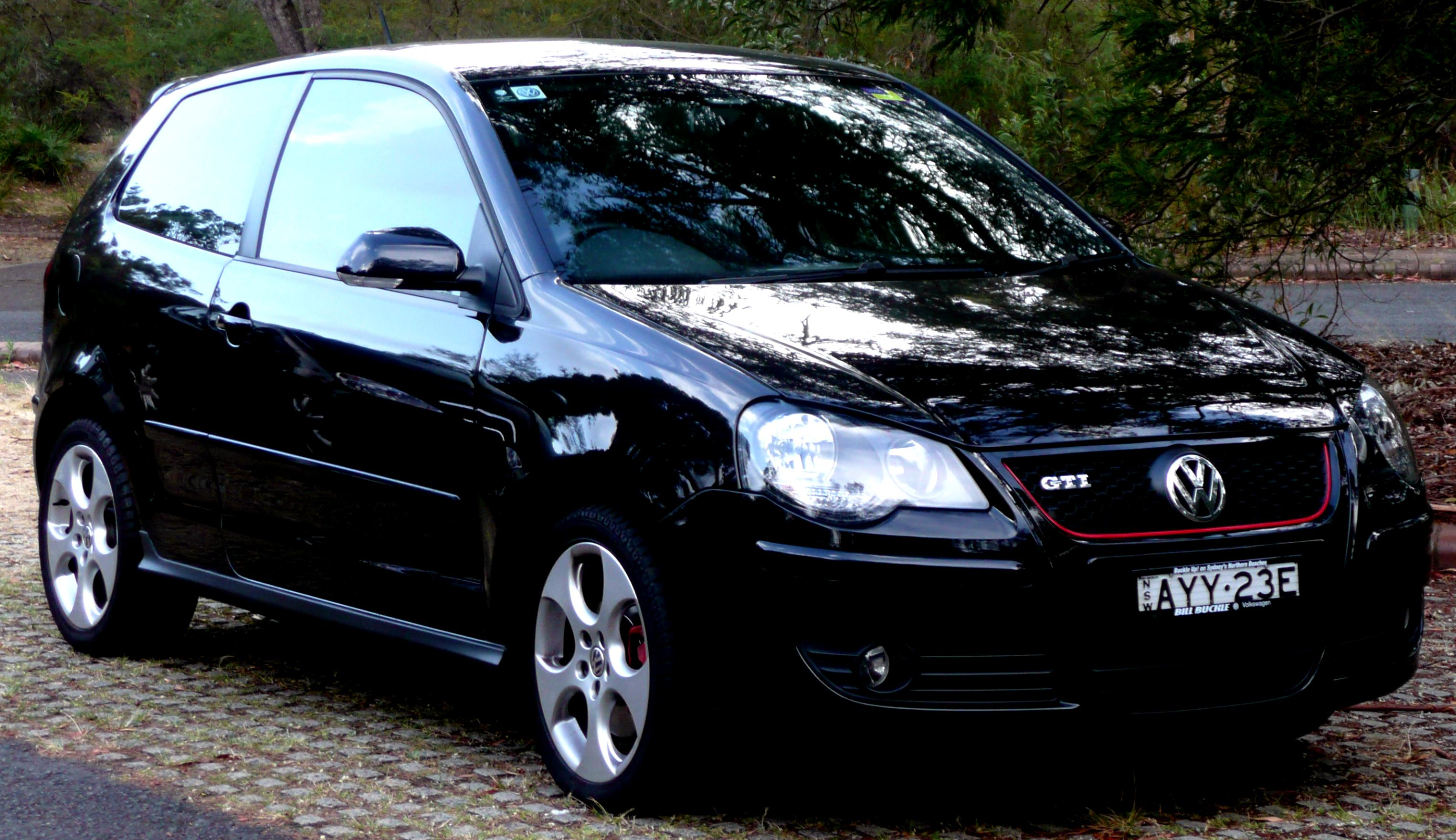 volkswagen polo gti 2005 on. Black Bedroom Furniture Sets. Home Design Ideas