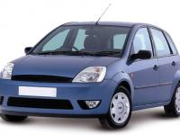 Ford Fiesta 5 Doors 2002 #1
