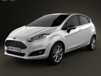 Ford Fiesta 5 Doors 2013 #3