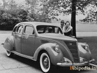Lincoln Zephyr Fastback 1936 #2