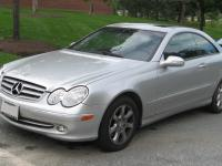 Mercedes Benz CLK C209 2005 #1