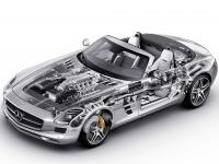 Mercedes Benz SLS AMG Roadster C197 2011 #70